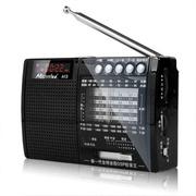酷道 A13 全波段老年人调频fm收音机插卡音箱响 晨练散步MP3播放机 黑色