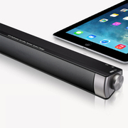 more-thing 长条一体机2.0多媒体电脑音响笔记本台式平板伴侣USB供电音箱 黑色
