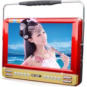 先科 9寸看戏机双电池长待机 视频扩音器唱戏机多功能大功率视频机 富贵红 标配加8GTF卡