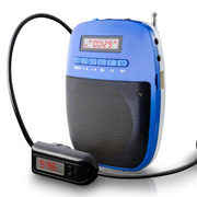 WSHDZ 山禾小蜜蜂扩音器 无线扩音 教师专用耳麦扩音器教学腰挂 深海蓝