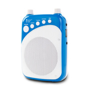 WSHDZ 山禾扩音器 教师专用 腰挂 大功率唱戏机 扩音器教学 蓝色