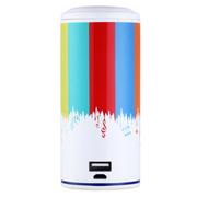 艾米尼 手机无线蓝牙音箱4.0迷你便捷小音响 多功能 大容量充电宝移动电源多功能 音乐播放 彩色
