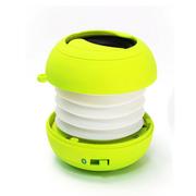 艾米尼 汉堡折叠便携式蓝牙音箱 户外音响 收音机 音箱迷你低音炮 黄色