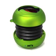 艾米尼 汉堡折叠便携式蓝牙音箱 户外音响 收音机 音箱迷你低音炮 绿色
