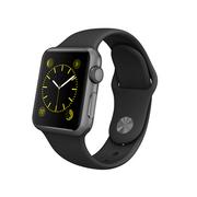 苹果 Apple Watch 智能手表(黑色/38毫米表壳/运动型表带)