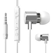 瑞歌 高保真入耳式线控音乐手机耳机 适用于三星苹果小米红米魅族联想华为荣耀魅蓝酷派 白色 金属款(两件减10元)