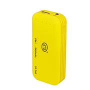 安拓比(ATB) 移动电源6400mAh手机平板通用女性充电宝苹果三星输出 LG电芯更安全更放心更耐用 黄色