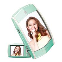 卡西欧 EX-MR1 数码相机 自拍魔镜 绿色产品图片主图
