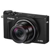 卡西欧 EX-100 EX100自拍数码相机1200万像素10倍变焦高速AF 黑色