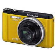 卡西欧 EX- ZR1500自拍神器数码相机12.5倍变焦五轴防抖 黄色