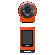 卡西欧 EX-FR10 数码相机 1400万像素 21mm广角 F2.8光圈 橙色