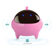 耐鹰 Bay 小音箱 电脑音响 笔记本USB2.0卡通迷你礼品小音响 太空人低音炮 粉红