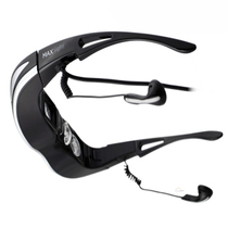 爱视代 HD920X 3D视频眼镜 智能眼镜移动影院高清3d头戴式显示器眼镜 黑色产品图片主图