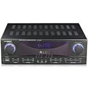 现代 KA-8200 家庭影院 家用式音箱 AV功放机 (黑色)
