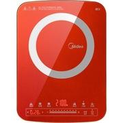 美的 QH2107 全新匀火Glory系列彩板超薄滑控双显屏 电磁炉