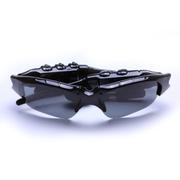 酷道 智能蓝牙眼镜 无线音乐立体声耳机偏光太阳镜 头戴式运动听歌打电话 黑色