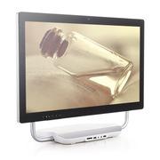 Wibtek i3 24英寸一体电脑(双核 4G 1T wifi 摄像头)银白色