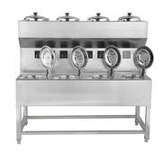 乐创 MWD-A08商用电八头煲仔饭机 智能定时煲仔炉全自动 8头锡纸煲仔炉