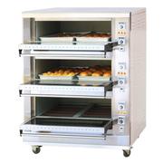 乐创 EO3-6大型面包烤炉 三层六盘电烤箱 蛋糕面包披萨烤箱商用烘炉