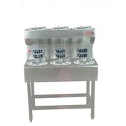 乐创 MWD-B06商用电六头煲仔饭机 智能定时煲仔炉全自动 6头锡纸煲仔炉