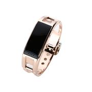 DRACO D8 智能蓝牙手表 智能手环 男女情侣手表 健康计步器防盗手机伴侣 金色