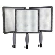 南冠(Nanguang) CN-576 三灯套装 LED外拍补光灯 LED摄影灯 摄像灯 影视新闻灯 外拍影棚灯 3灯+9块F550+2充电器