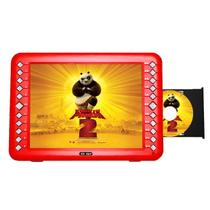 先科 SAST/14寸带DVD侧面出仓高清看戏机唱戏机电视移动DVD广场舞视频播放器 红色 标配+8G歌戏卡产品图片主图
