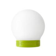 基本生活 智能无线蓝牙音箱 便携电脑音响灯 低音炮 mini温馨版+plus聆听 mini温馨版-绿色