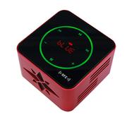 SENBOWE 无线蓝牙音箱 触摸屏音响低音炮 迷你便携接听电话户外收音机 智能语音 红色