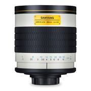 SAMYANG 500mm F6.3  长焦镜头 折返镜头 单反 单电 微单手动镜头 佳能卡口