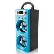 SENBOWE 便携木质手提插卡音箱户外广场舞音响充电U盘低音炮收音机 升级版