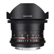 SAMYANG 8mm T3.8Ⅱ 电影镜头 鱼眼镜头 APS-C  手动镜头 尼康卡口