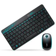 其他 富德无线键盘鼠标套装 笔记本台式机电脑 电视游戏超薄键鼠套件 无线键鼠套装 笔记本无线套装黑色