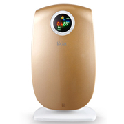 哥尔 GO-2882空气净化器 家用除甲醛 除二手烟降尘30平方负离子PM2.5 金色