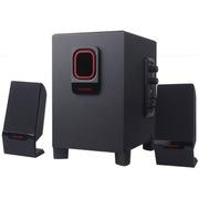 现代 CJC-112   2.1多媒体游戏音箱 IC进口芯片/大功率/木质音箱 黑色