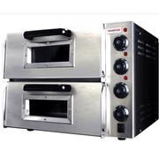 乐创 PO2PT烤箱 商用 烤炉双层蛋糕面包大烘炉设备电烤箱 商用披萨烤箱