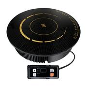 乐创 HT20-D9 线控商用火锅2000W餐厅酒店 圆形嵌入式电磁炉
