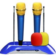 其他 澳莱特 专业无线麦克风 卡拉OK电脑 k歌ktv会议家用 一拖二话筒  N-08A