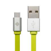 机乐堂(JOYROOM) Micro USB安卓手机数据线充电线 适用于三星/华为/小米/安卓 面条绿色-1米