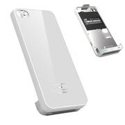 绿帆 iPhone4/4s电池背夹  精美苹果4/4S保护壳式移动电源 白色(赠送苹果4手机贴膜)