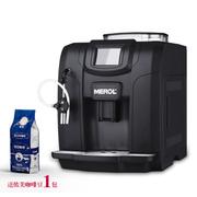 美宜侬 美宜侬/ ME-712家用意式全自动咖啡机 商用触屏式现磨豆自动奶泡(黑色)