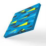 BAKE 迷你饼干超薄3D色彩移动电源2600毫安   通用型 萨姆蓝色