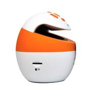 aigo 爱国者BT100 无线蓝牙音箱便携 蓝牙音响 免提通话便携式插卡音响 低音炮 活力橙
