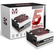 玛侕斯 额定550W YL-550G电源(80Plus金牌/联合京东打造金牌五年换新/半模组)