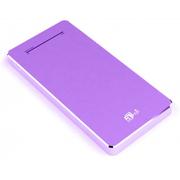 aMagic 纤薄移动电源6000毫安充电宝iPhone6plus/5S通用 紫色
