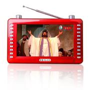 好牧人 S579 圣经播放器 基督教福音点读机 7寸视频机 随身播放圣经机 基督教播放器 玫瑰红 套餐