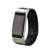 威马仕 D8S智能手环 智能蓝牙手表  健康计步器防盗手机伴侣 智能穿戴腕表 金属银