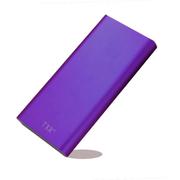 TXR 大容量三星手机通用充电宝20800小米小米移动电源20000毫安 女冲电宝 时尚紫