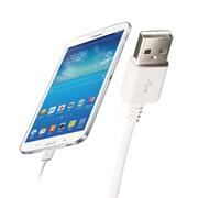 voia 三星N7100充电器 安卓华为小米通用手机数据线 适用S6/S4/note4/3 通用款(白色含数据线)