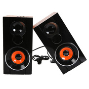 先科 N38 木纹 多媒体音响 手机伴侣 带插卡特价